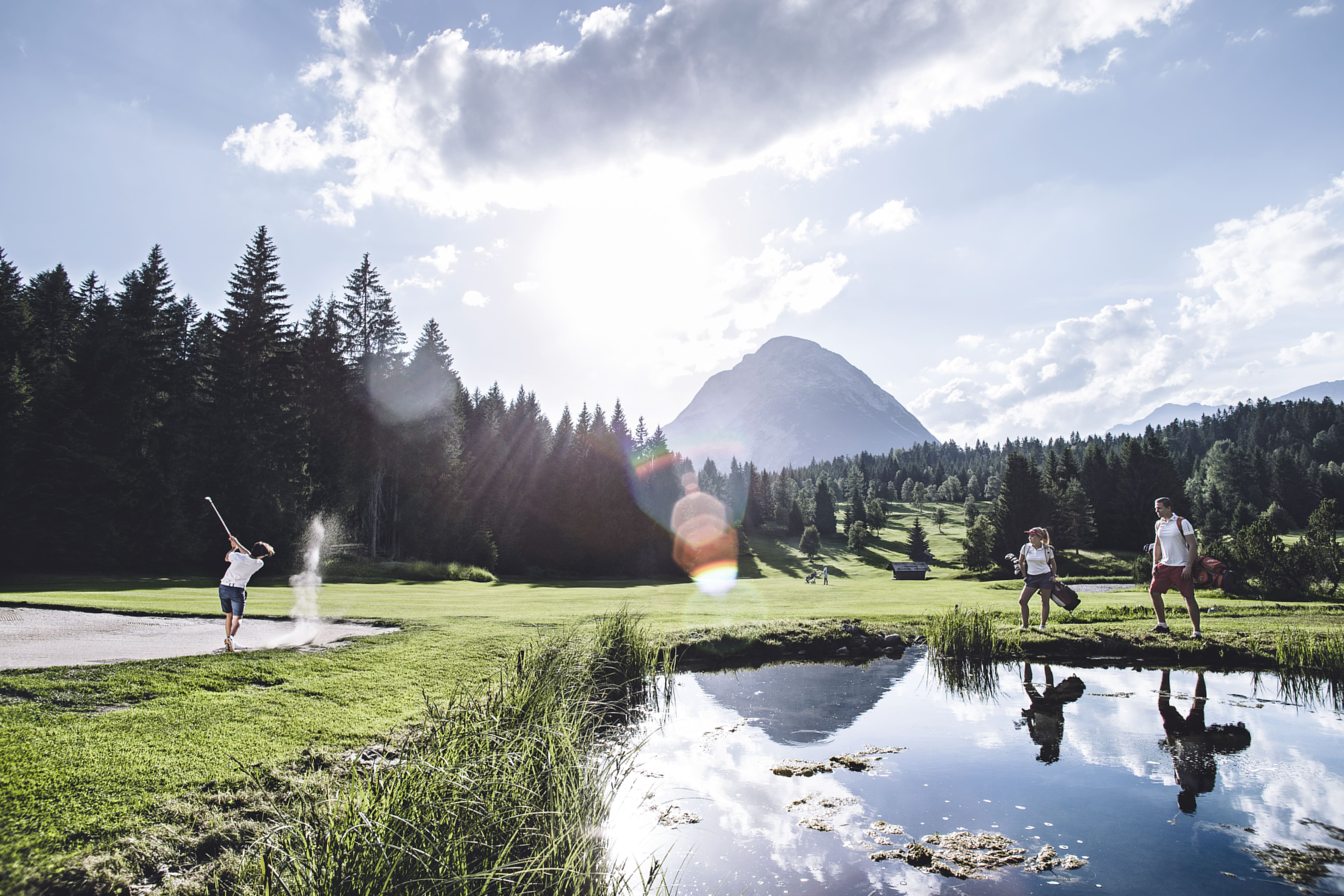 Golf in Seefeld